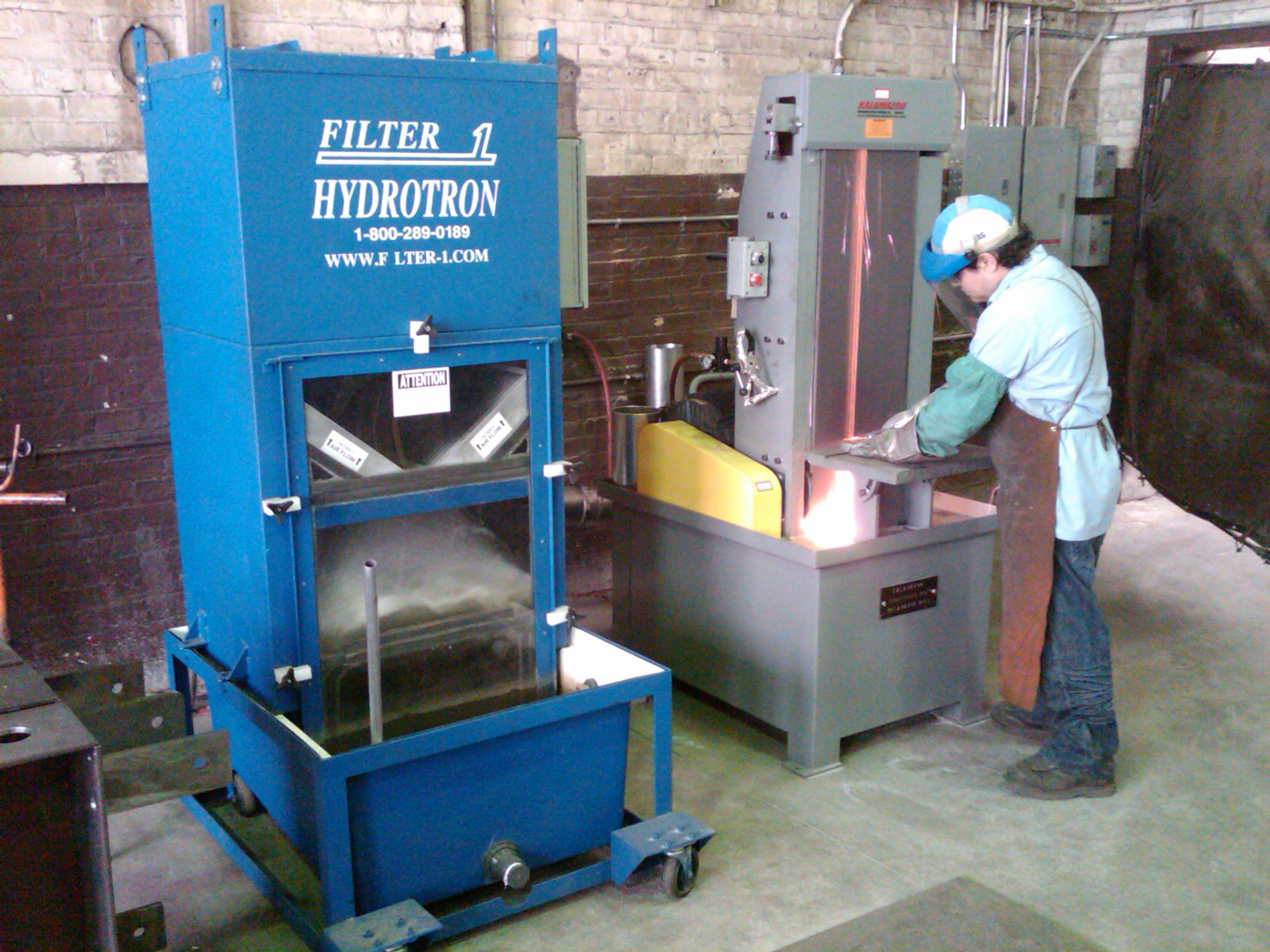 Wet Dust Collector Aircraft Manufacturer Dust Collection