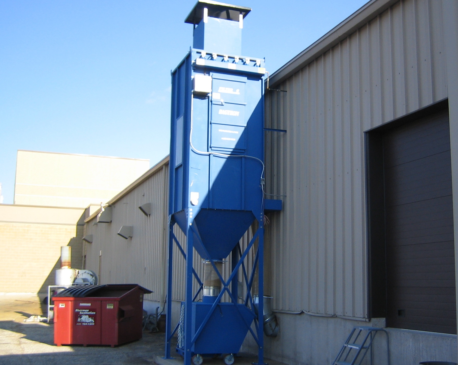 Baghouse Dust Collection Heavy Dust Solution Hasting Air