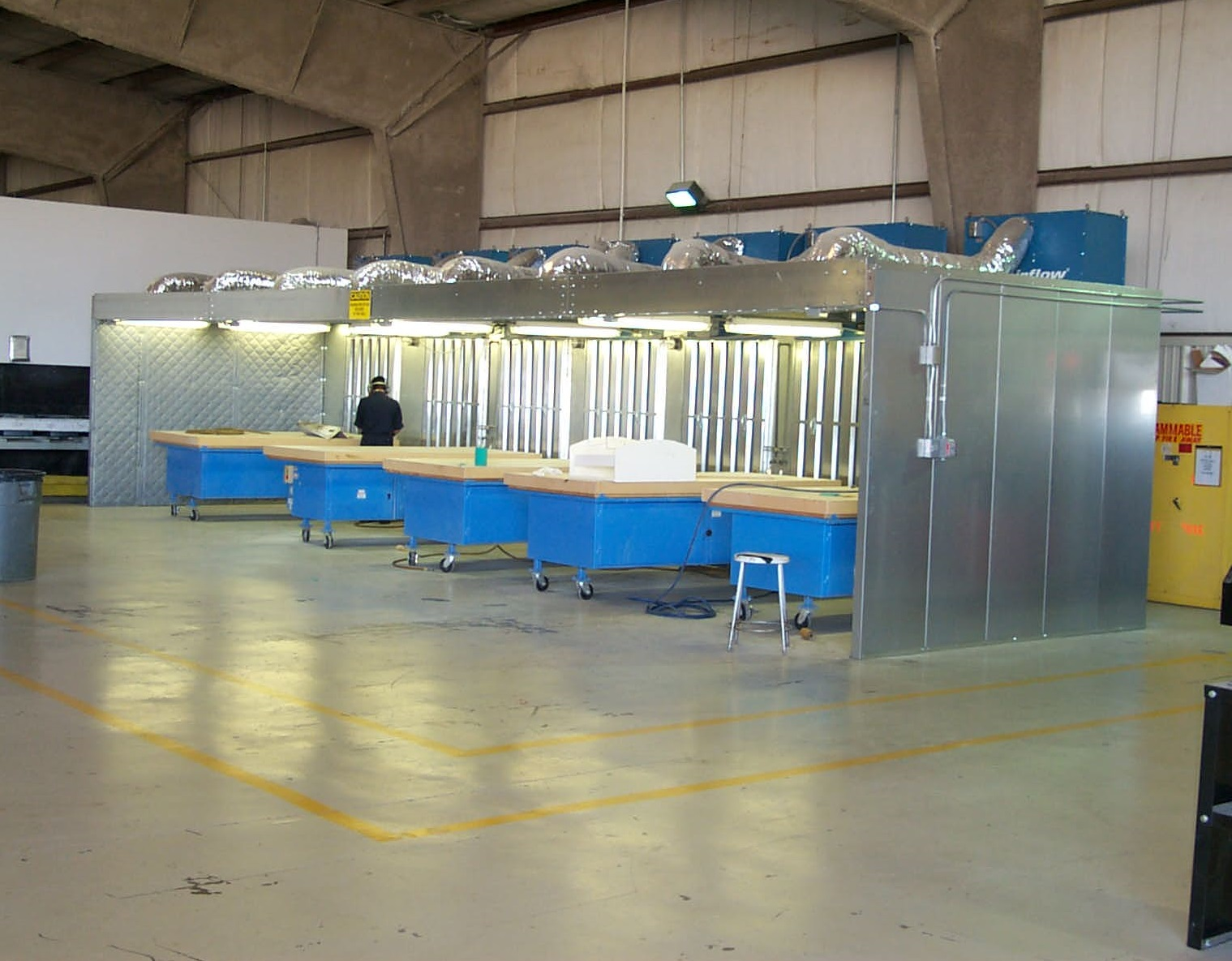 Environmental Dust Control Booth & Industrial Air