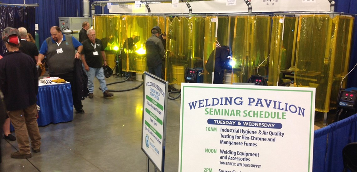 Welding Pavilion - 2017 Wisconsin Manufacturing & Technology Show